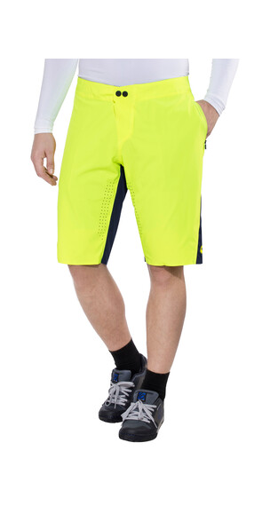 Fox Attack Shorts Men navy/yellow